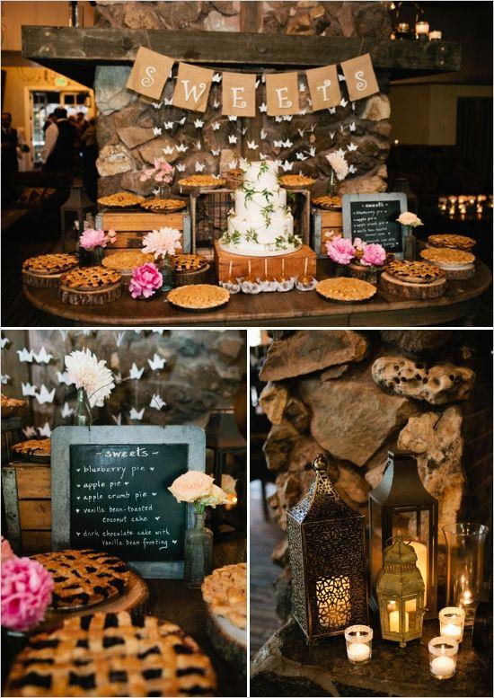 Rustic Pink Shabby Chic Wedding Wedding Cakes Wedding
