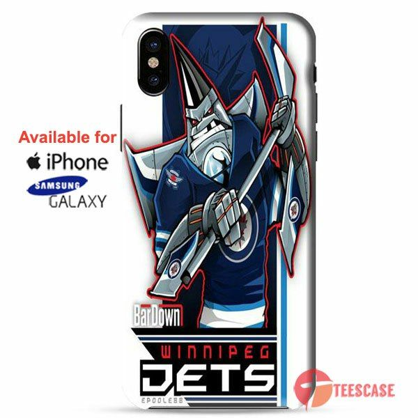 winipeg jets hockey iPhone X Cases, iPhone Cases, Samsung Galaxy Cases, teescase 107
