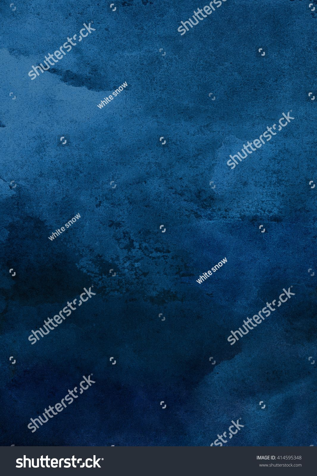 Dark Blue Watercolor Background Royalty Free Image Photo