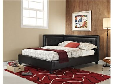 Shop For Standard Furniture Upholstered Black Corner Daybed, 4/6, 90311,  And Other Youth Beds At Wright Furniture U0026 Flooring In Hannibal, MO.