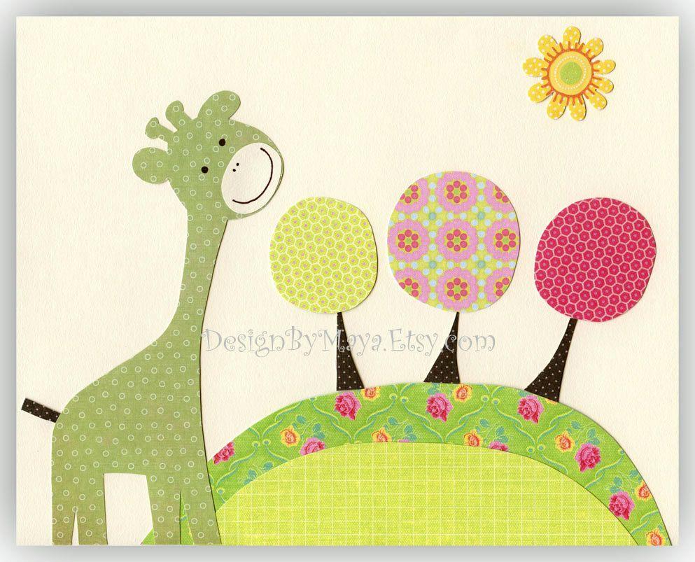 Baby Nursery Decor Art for Children...Taller than the trees. $17.00 ...