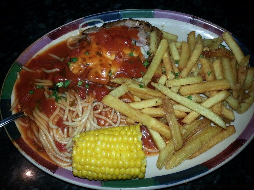 Chicken Parmigiana From Frankie And Bennys Munchies Food