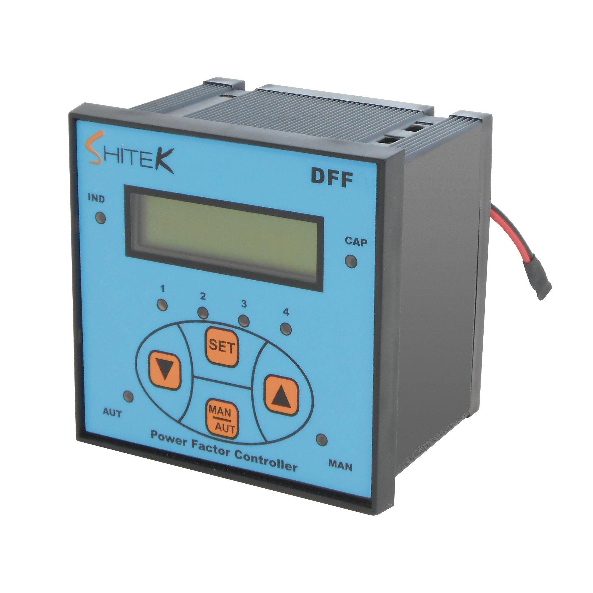 DFF Controllo filtro passivo. Dispositivo per controllo filtro passivo capacitivo dedicato alla gestione di carico capacitivo inseribile in base alla richiesta con funzione avanzata antipendolamento.