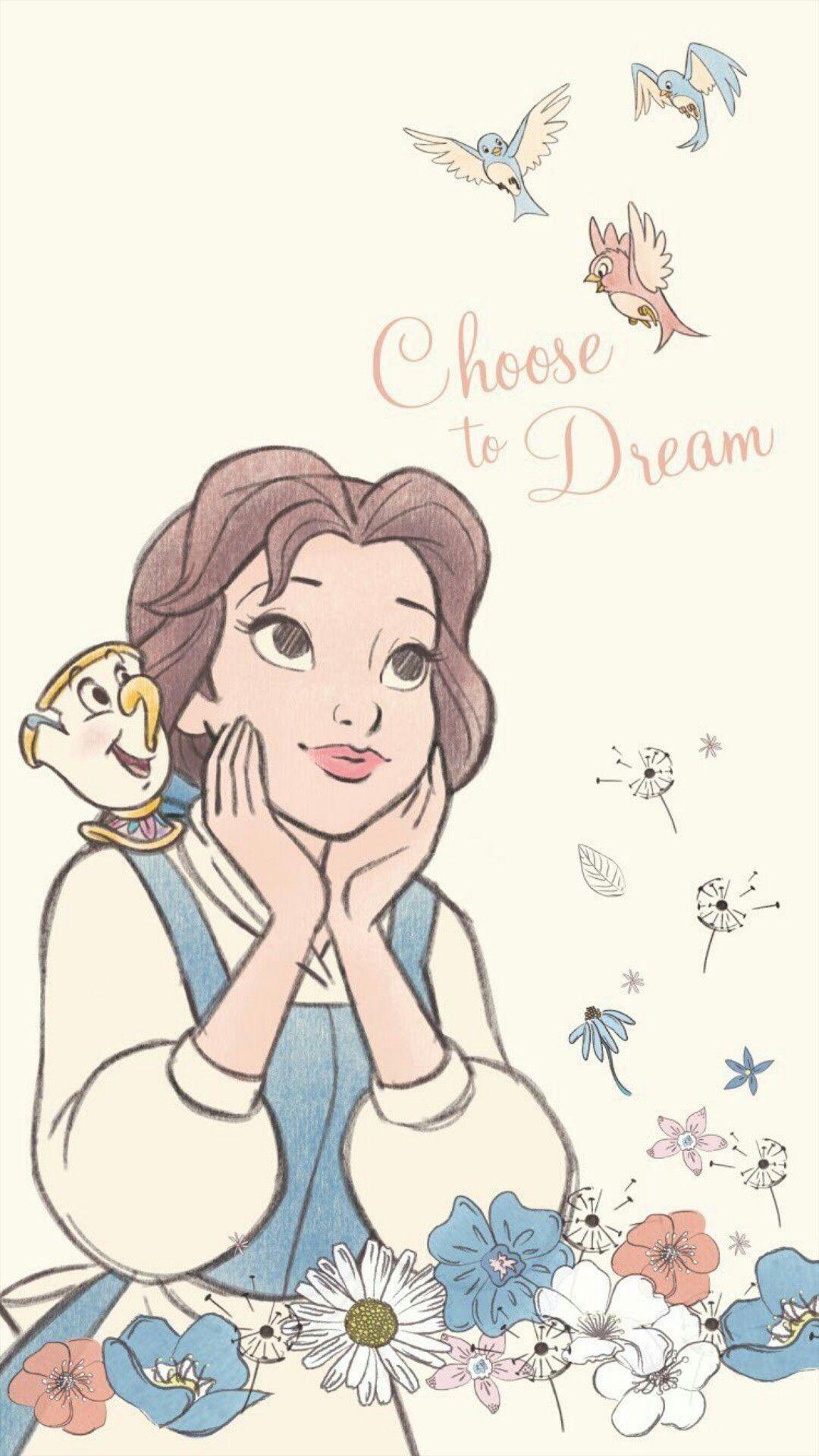 Beautiful Princess Belle 2020 ディズニーアート ディズニー
