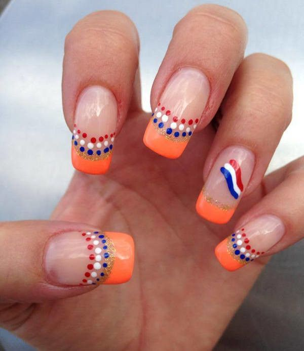 Nail art designs best nail art ideas bright nail art designs red and white nail polish designs prinsesfo Image collections