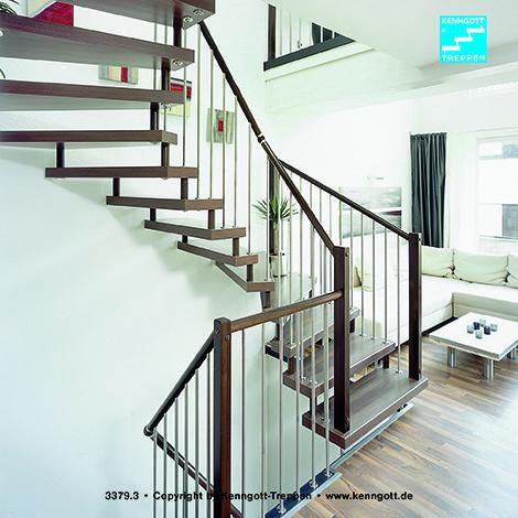 kenngott treppe verdi stufen nussbaum longlife freitragende kenngott treppe 2 x 1 4 gewendelt. Black Bedroom Furniture Sets. Home Design Ideas
