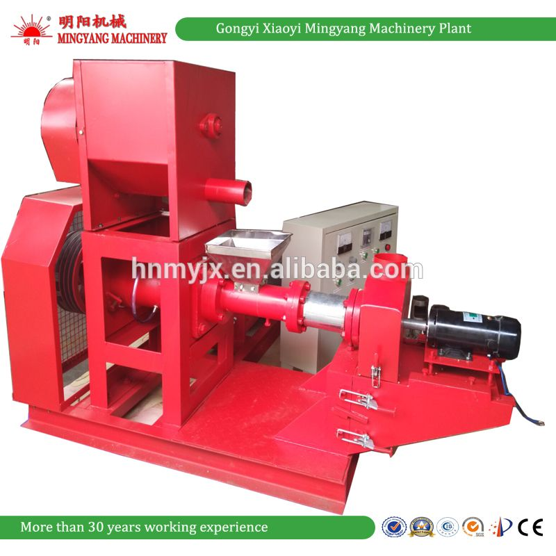 Factory Price Tilapia Floating Fish Feed Pellet Extruder ...
