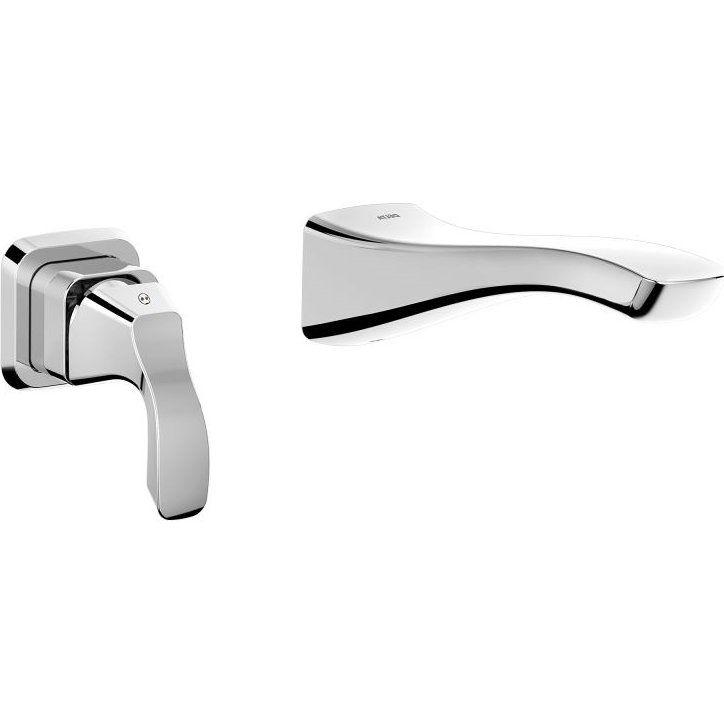 delta faucet t552lf wl tesla polished chrome wall mount bathroom rh pinterest com