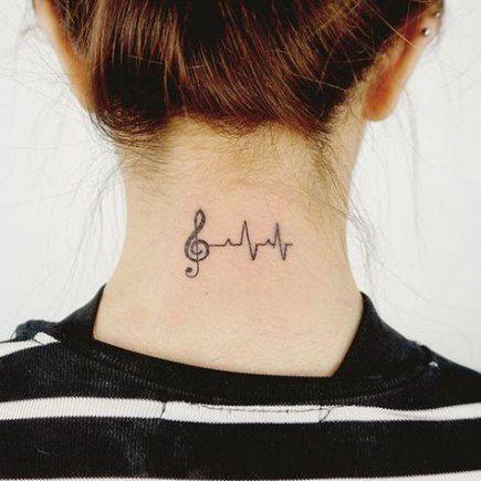 Photo of 24 Trendy ideas tattoo neck music