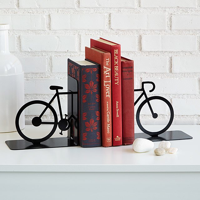 Bicycle Bookends Book End Bike Decor In 2020 Bookends