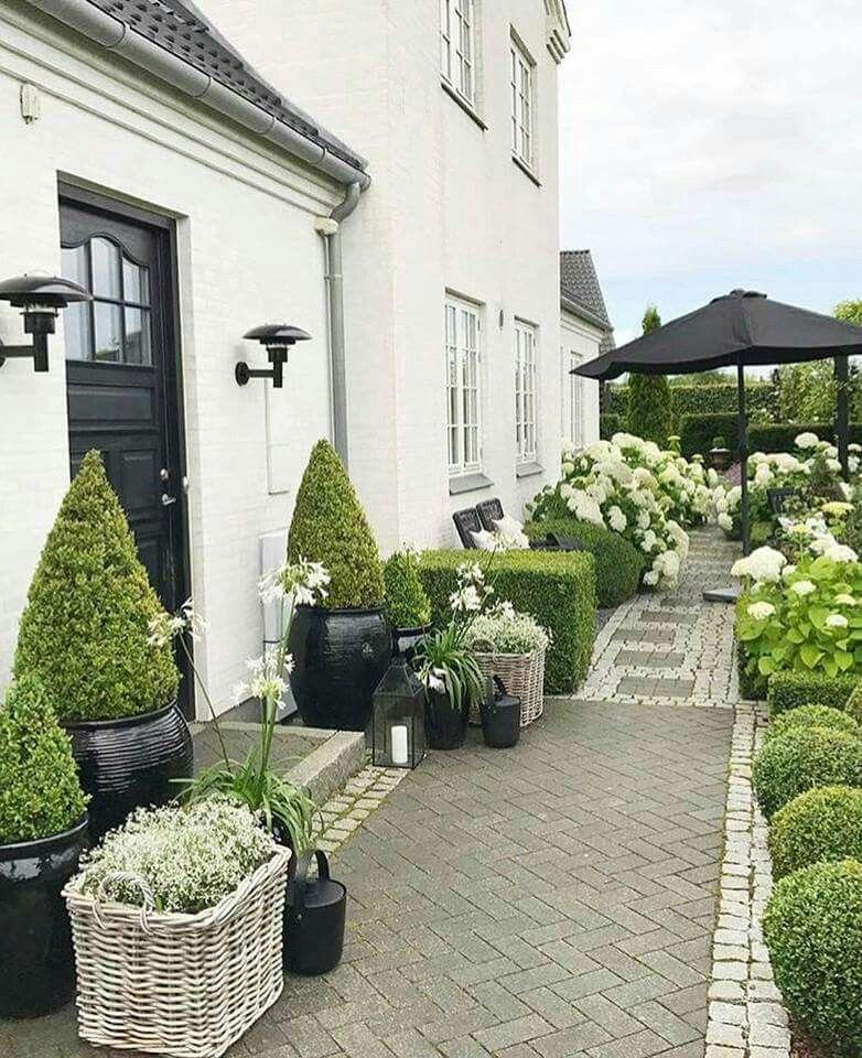 Garten Terrasse: Pflanzenkübel Für Den Garten, Garten