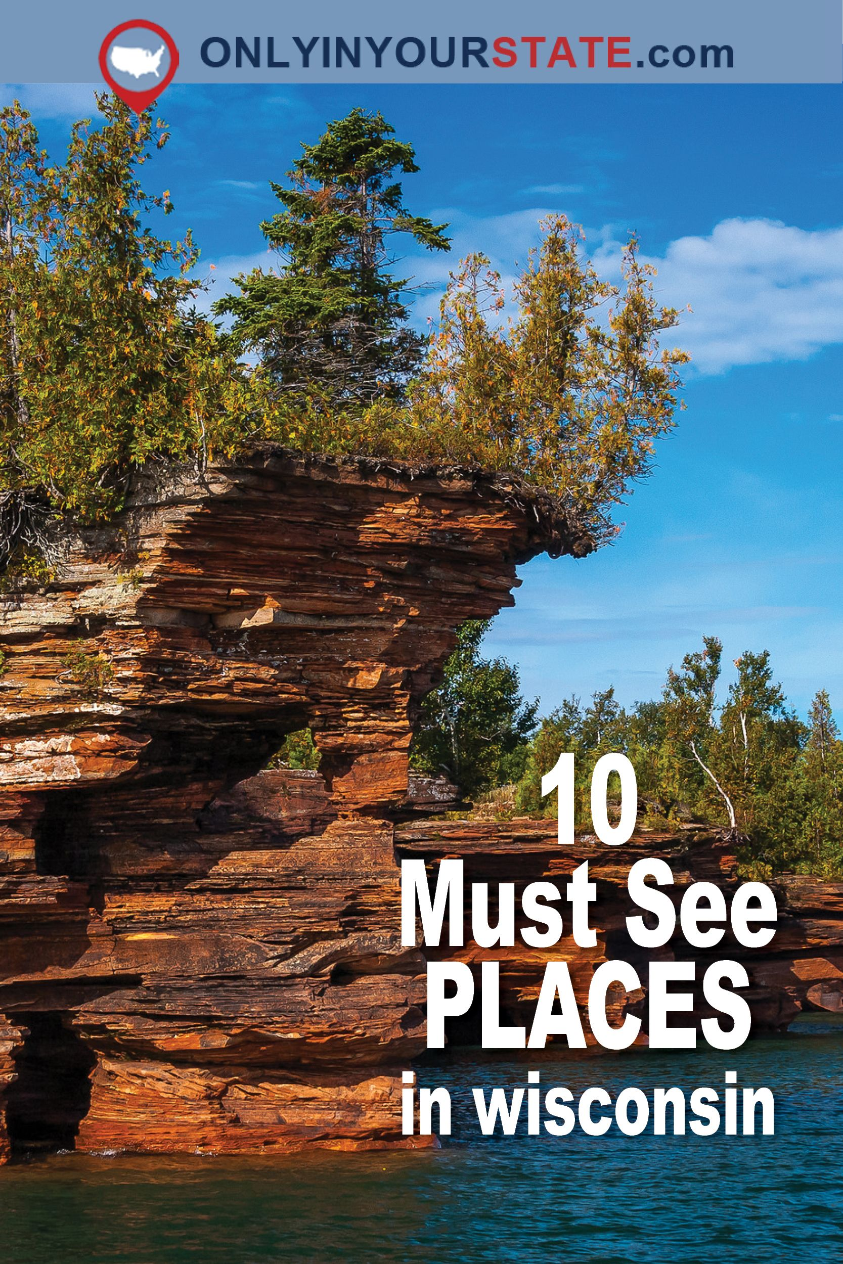10 Places In Wisconsin You Must See Before You Die Wisconsin Travel Midwest Travel Vacation Road Trips