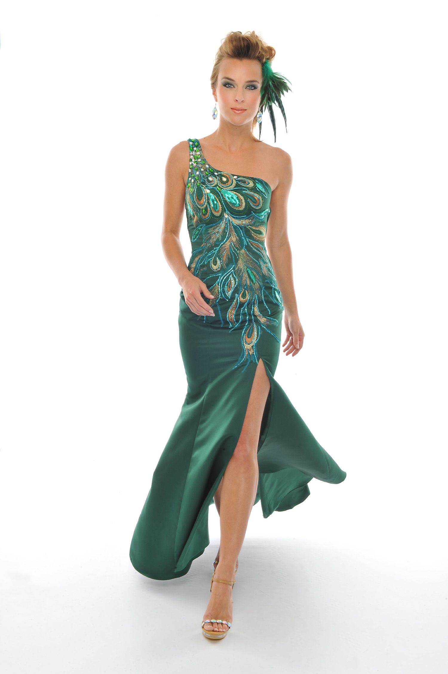 Lux gal byprecious formals prom dress l available in emeraldm