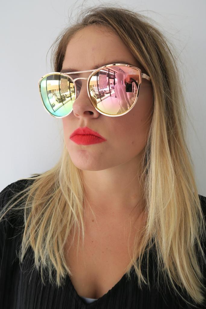 076710b268 Quay Cherry Bomb Sunglasses ROSE GOLD