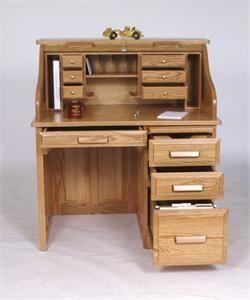 Amish Rolltop Desk 3364 Roll Top Desk Woodworking Desk Plans Furniture