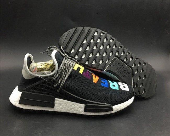 26cb8a7c0 Pharrell x adidas NMD Human Race Trail Breathe Walk Black For Sale ...