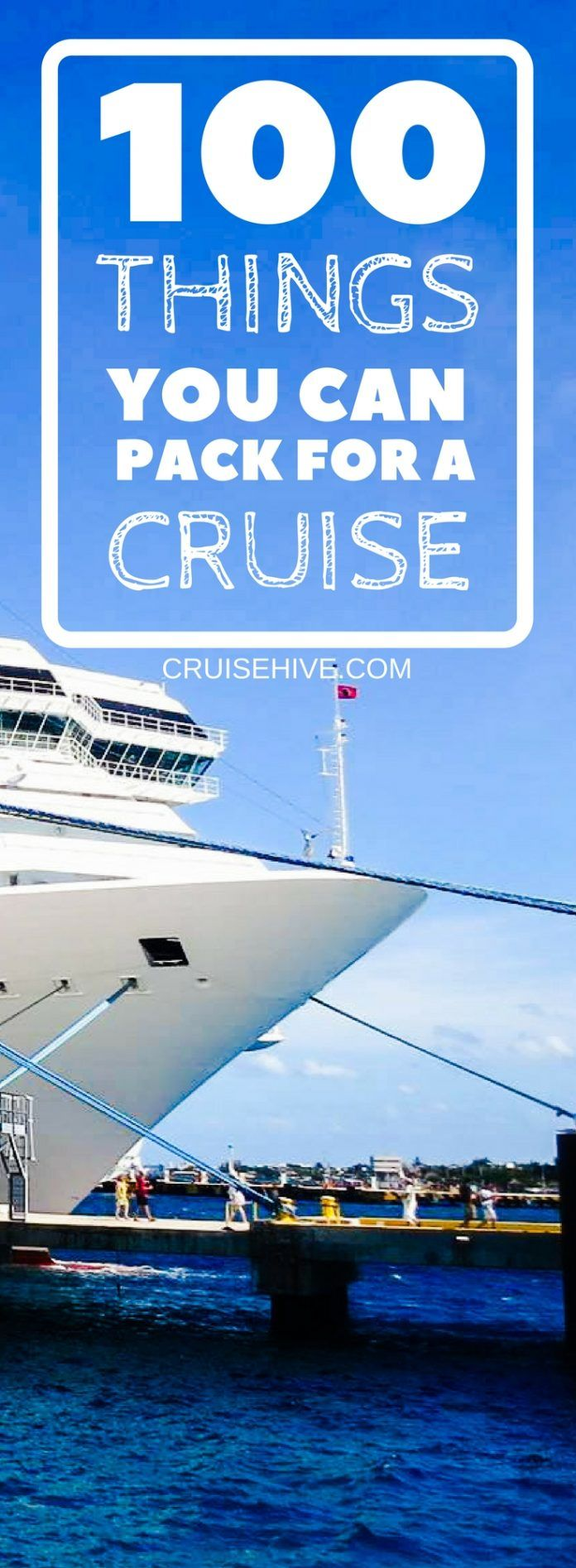 100 things you can pack for a cruise cruise hacks packing for a rh pinterest com
