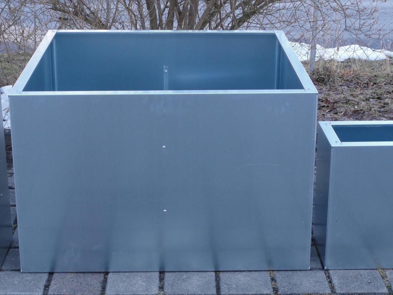Hochbeet Urban Metall 0 55 M X 1 5 M Hohe 0 7 M Verzinkt Hochbeet Gartenboden Und Metall