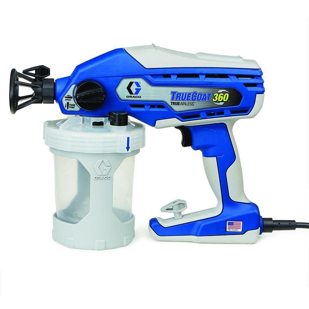 Graco 16y385 truecoat 360 paint sprayer paint sprayer
