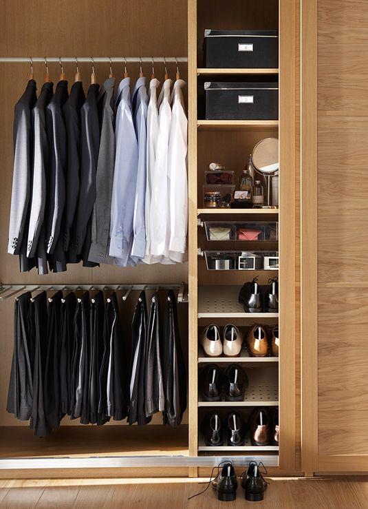 El armario perfecto vestidor pinterest - Como revestir un armario ...