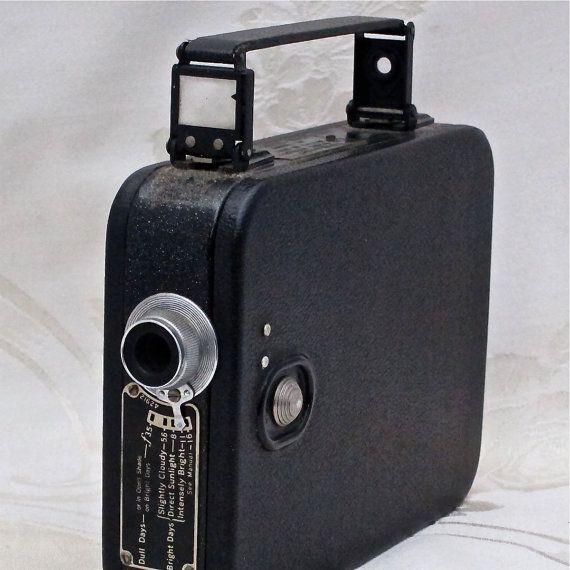 vintage cine kodak model 20 movie camera by versatilevintage 30 00 rh pinterest com Largest Cine-Kodak 8A Film Model Cine-Kodak Cartgrage
