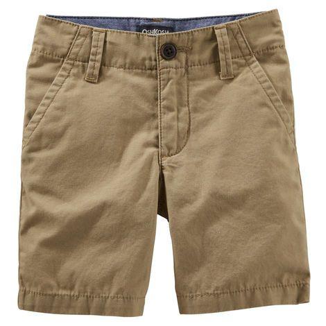 Flat-Front Shorts | Babies
