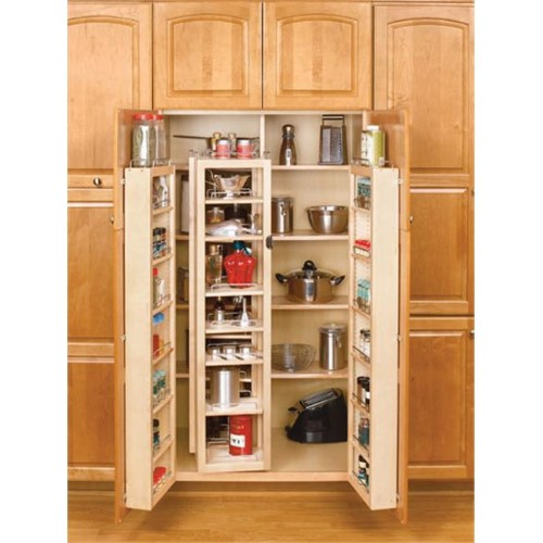 45 in tall wood swing out pantry kit as shown in 2019 products rh pinterest com