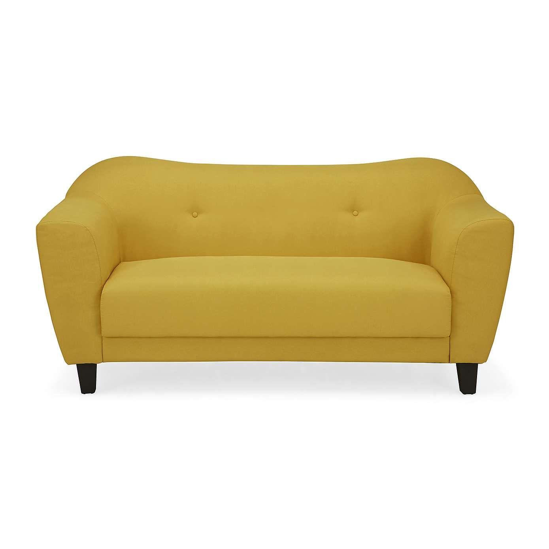 Cassie 2 Seater Fabric Sofa Dunelm Fabric Sofa Small Sofa Faux Leather Sofa