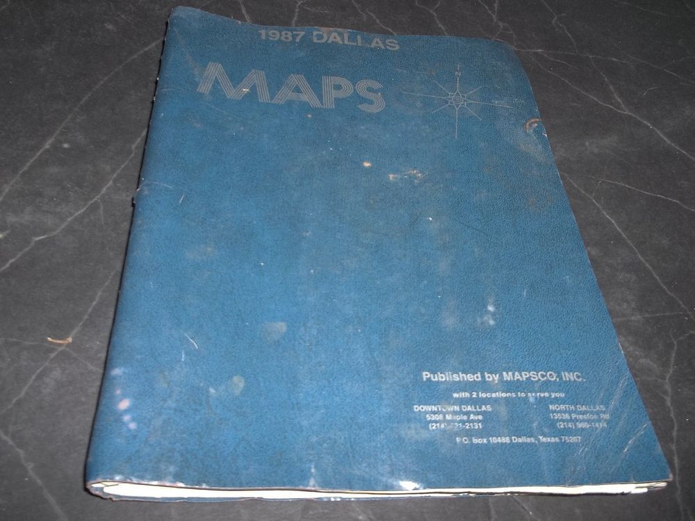 Washington Dc Popout Map%0A Vintage Dallas Texas Mapsco Airport Highway Shopping Centers Zip Code