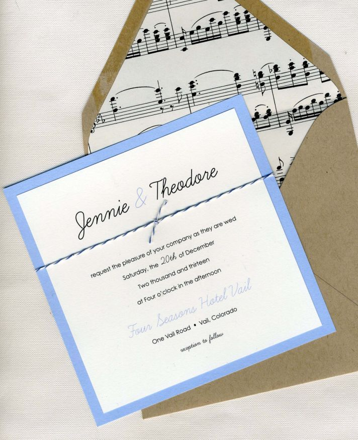 paper style wedding invitations%0A music themed wedding accessories ceremony reception decor elegant invitation  Styles  and Reception  Themes