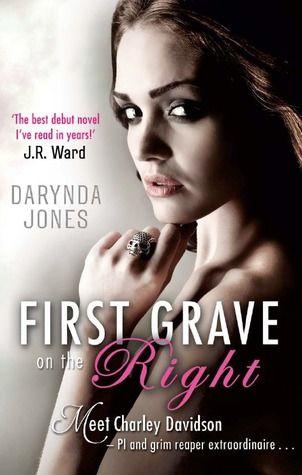 "First book in the ""Charley Davidson"" urban fantasy series by Darynda Jones. Such a fun book!"