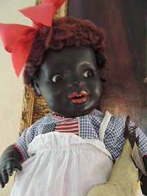 Antique Black Bisque Doll Kw Mold 134 16 Inches Ashley S Dolls Dollshopsunited Antique Dolls Dolls Bisque Doll