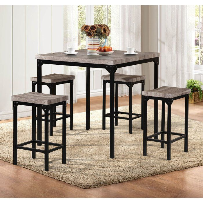 breen 5 piece pub table set in 2019 decor counter height dining rh pinterest com