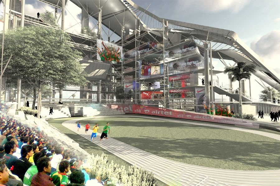 Sports Center for Social Cohesion and Youth Development