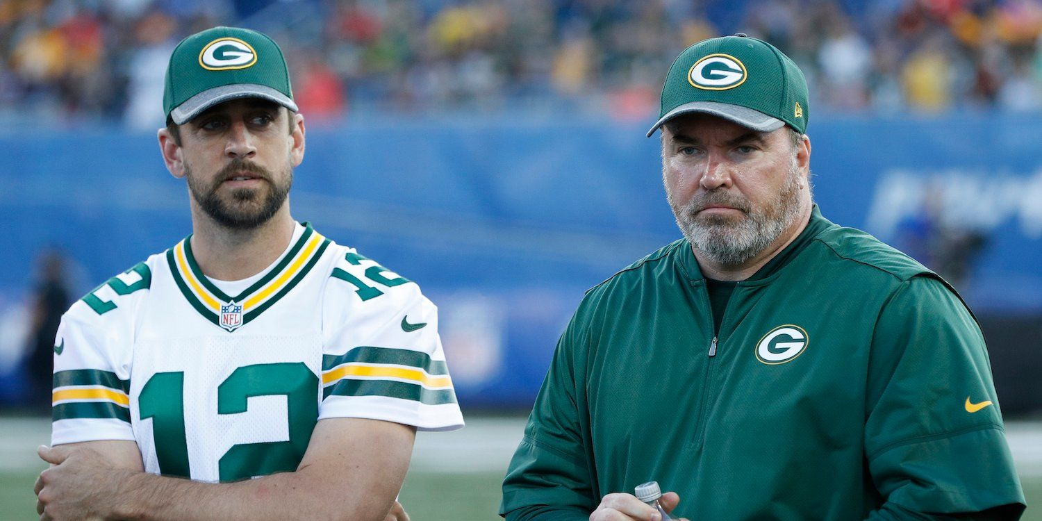 Aaron Rodgers And Mike Mccarthy S Relationship Reportedly Was A Disaster As Games Became Play Calling Contests And The Mike Mccarthy Aaron Rodgers Team Success