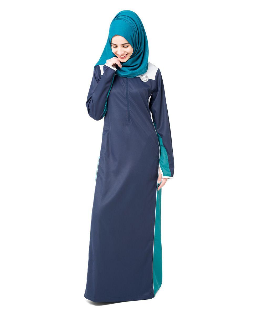 Blue Frost Grey Jilbab Hijab Pinterest Gray Abayas and Casual