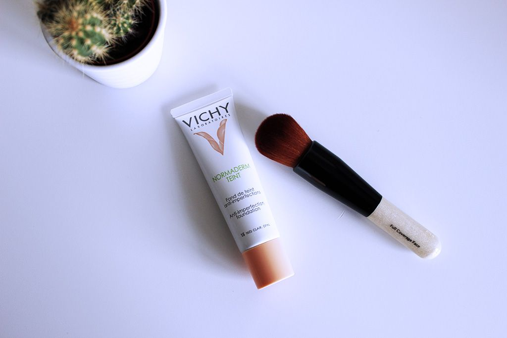 Beautyminded Vichy Normaderm Teint Foundation Review Cosmetica Huid Gevoelige Huid