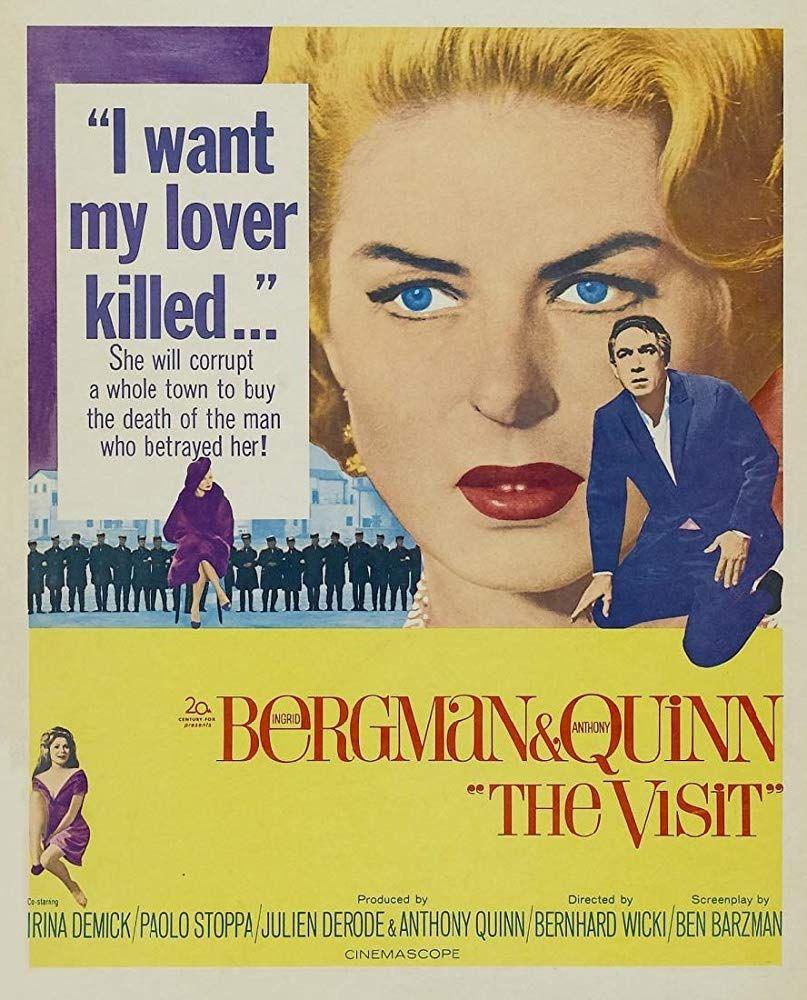 The Visit (1964) - IMDb   스포츠   Movie posters, Film movie