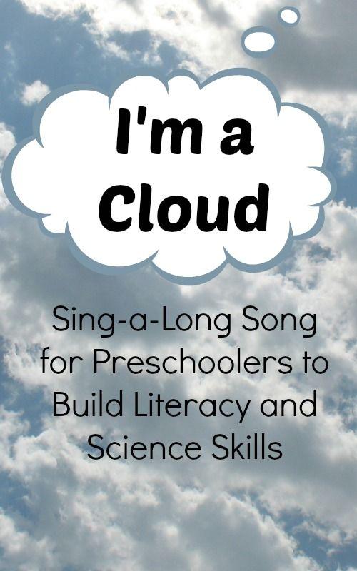 Preschool Songs I M A Cloud Preschool Songs Preschool Weather Teaching Weather