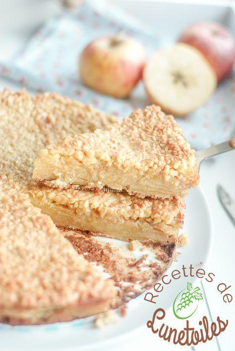 grimolle aux pommes et amandes - Amour de cuisine #falldrinks