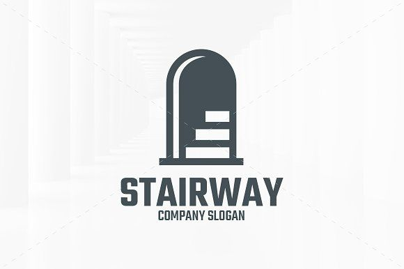Stairway Logo Template Logo Templates Logos Picture Logo