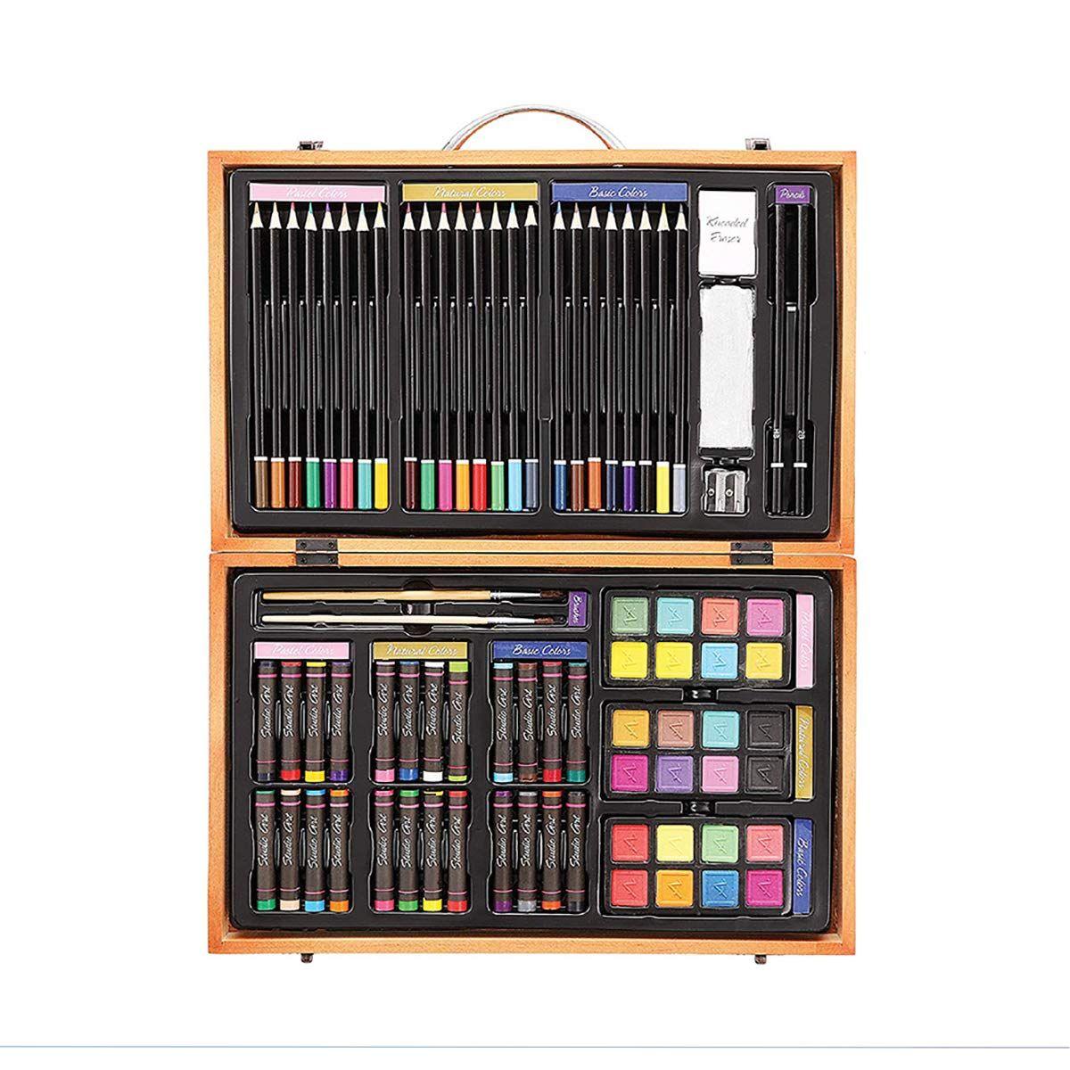 Darice 80Piece Deluxe Art Set Art Supplies for Drawing