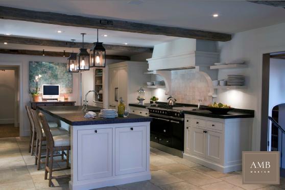 Vintage European Inspired Kitchen Designed By Anne Marie Barton