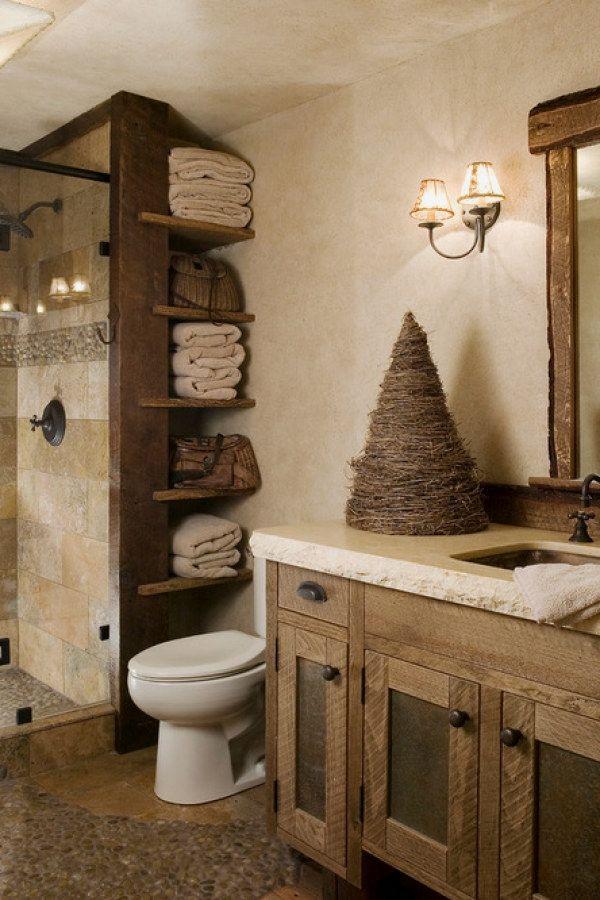 12 awesome rustic bathroom ideas you can create for your bathroom rh pinterest com