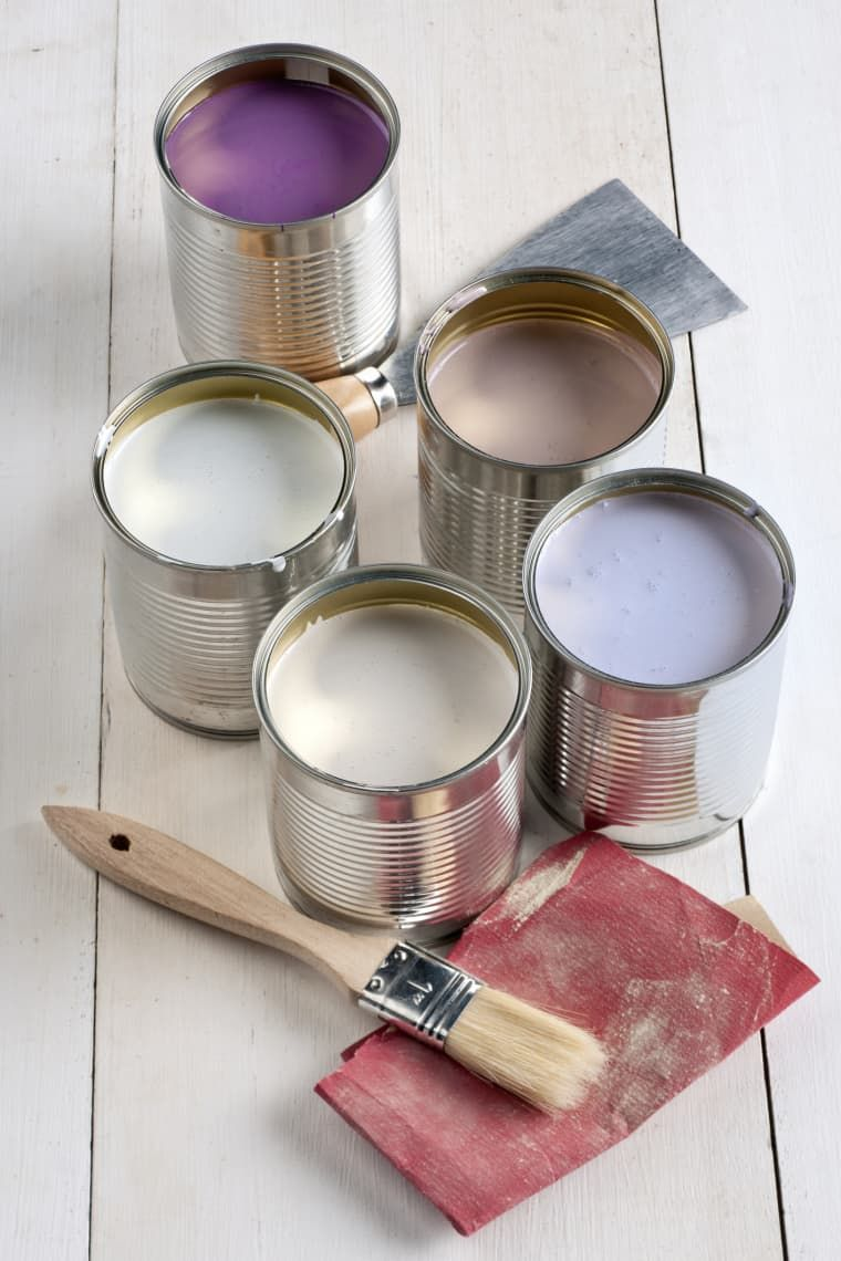 Tossing Unused Paint Is More Complicated Than You Think In 2020 Storing Paint Disposing Of Paint Wood Wax