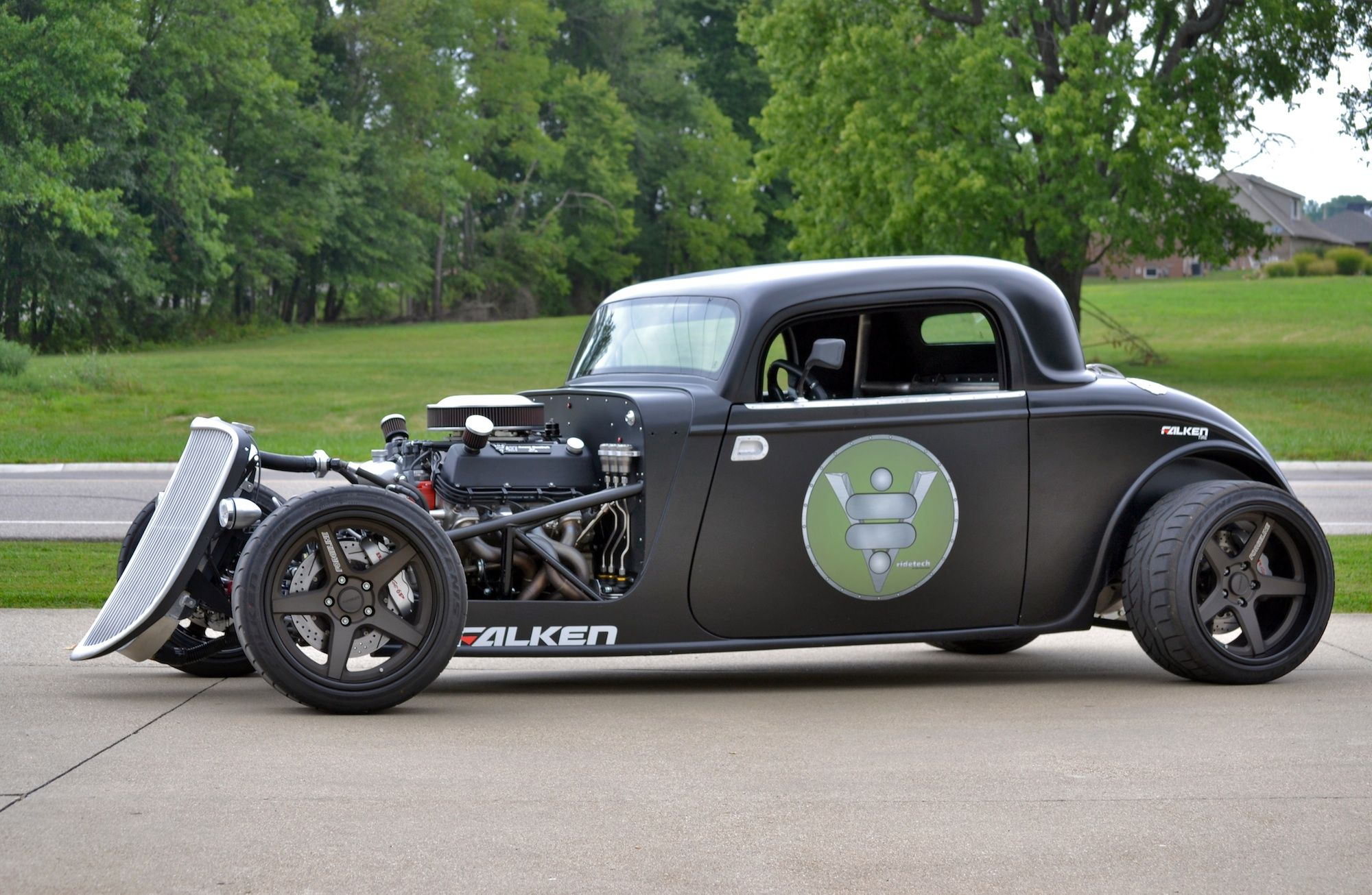 RideTech's '33 Ford on Forgeline Wheels, I love the new look ...