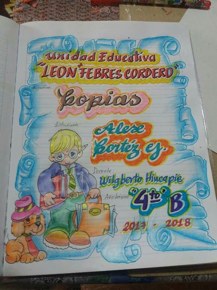 Car tulas ni o dibujo pinterest for Caratulas de artes plasticas para secundaria