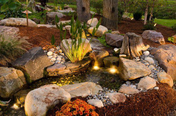 Coole Wasser Garten Ideen Wasser In Der Schonen Landschaft Garten Ideen Wasserspiel Garten Garten