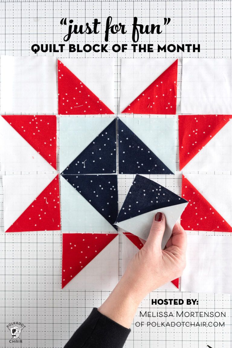 Announcing the Just for Fun Quilt Block of the Month