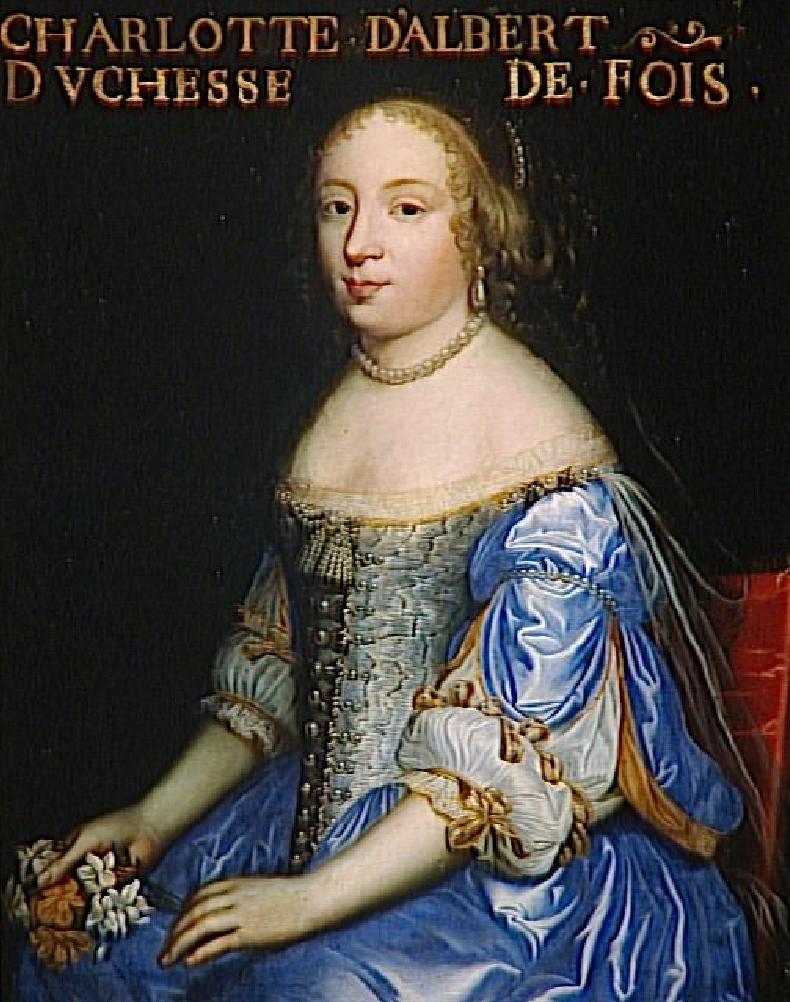 madeleine charlotte dualbert duailly duchesse de foix in her
